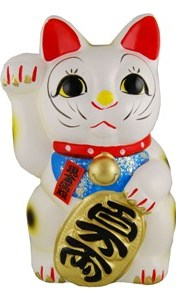 Traditional style lucky cat