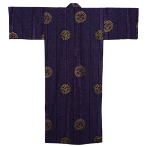 Ancient Coin Yukata, Purple