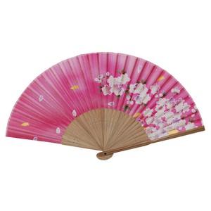 Cherry Blossom Japanese Folding Fan Pink Japanya