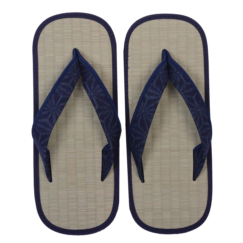 Blue Asanoha Zori Sandals Blue Japanya Asanoha dChQBtsrxo