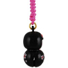 Cherry Kokeshi charm - black-3