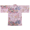 Dynasty in Cherry Blossoms Happi Kimono Wrapper, Pink-2