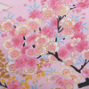 Dynasty in Cherry Blossoms Happi Kimono Wrapper, Pink-4