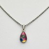 Small Teardrop necklace - Pink-1