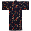 Persimmon Yukata, Navy Blue-2