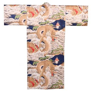 Great Sea Dragons Silk Kimono