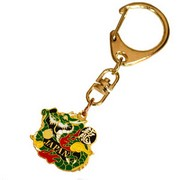 Green Dragon Key Ring