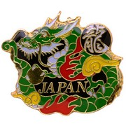 Green Dragon Pin Badge
