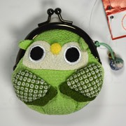 Owl purse - Green