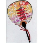 Scented Fan Card - Pagoda