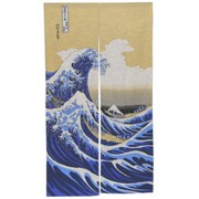 The Great Wave Noren Japanese Curtain