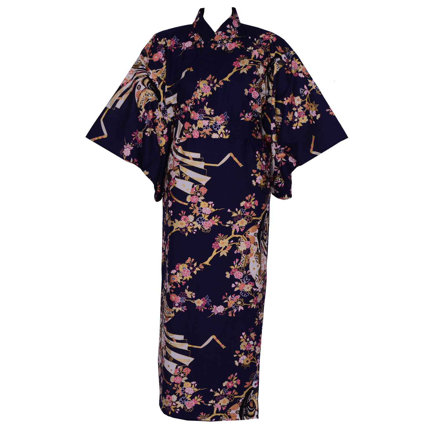 Cherry Princess Yukata, Navy
