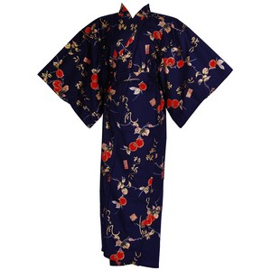 Persimmon Yukata, Navy Blue